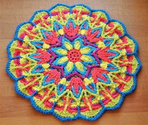 Explore Mandala Crochet + Mandala Crochet Patterns