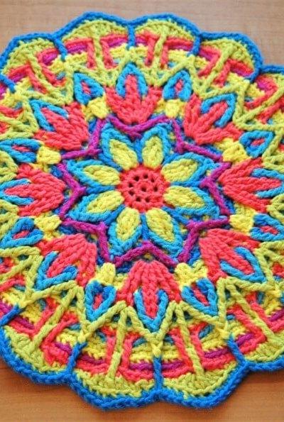 Explore Mandala Crochet + Mandala Crochet Patterns