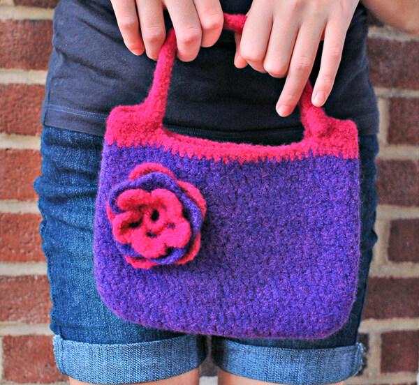 Felted Purse Crochet Pattern