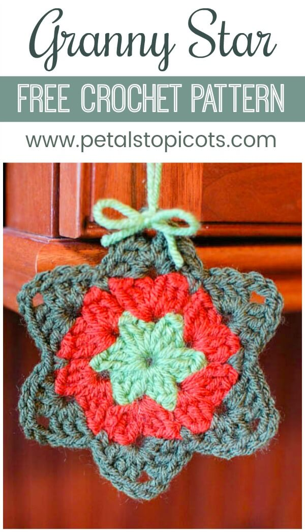 This free granny star crochet pattern has such a sweet story to go with it!