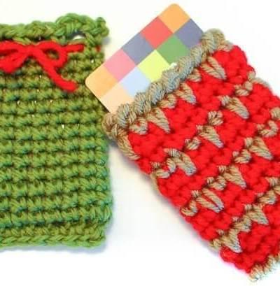 Holiday Gift Card Holder Crochet Patterns