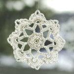 Grandma Jennies crochet snowflake pattern - 2