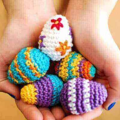 Mini Easter Egg Crochet Pattern