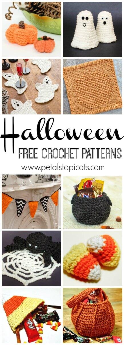 Free Halloween Crochet Patterns Pumpkins Ghosts And Spooky Decor