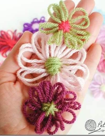 How to Make Loom Flowers