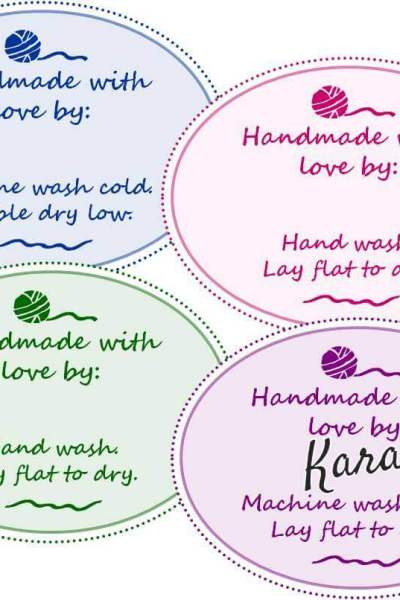 Free Printable Gift Tags for Your Handmade Gifts