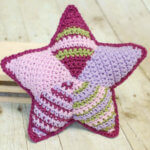 Patchwork crochet star from Little Woolie