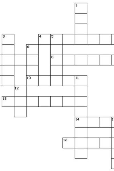 A Hooky Crochet Crossword