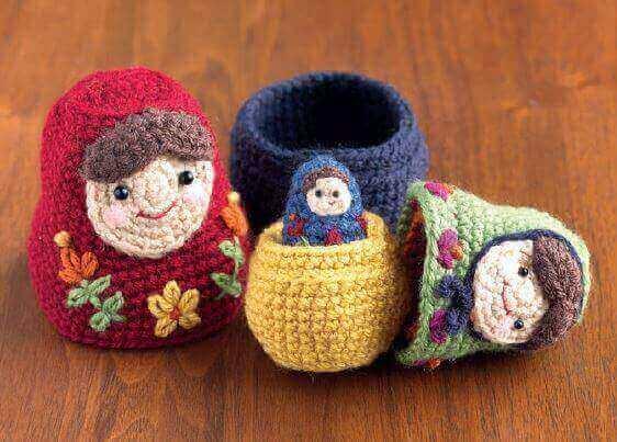 Nesting Dolls CAL Matryoshka Pattern