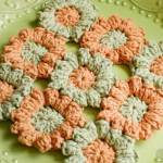 Flowering Trivets pattern by Regina Rioux