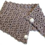 Broomstick Lace Cowl Pattern … Broomstick Lace Pattern