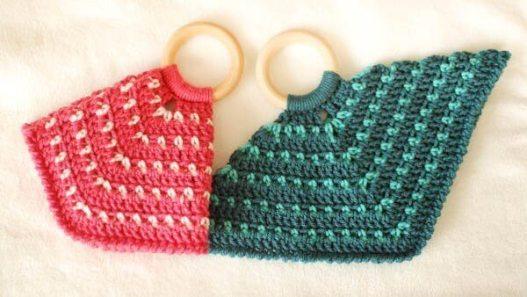 Teether Lovey Free Crochet Pattern   www.petalstopicots.com   #crochet