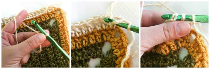 How to Crochet Standing Stitches | www.petalstopicots.com
