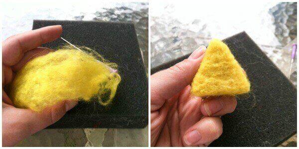 yellow angry bird pattern