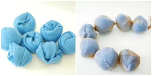 how to make felted wool dryer balls