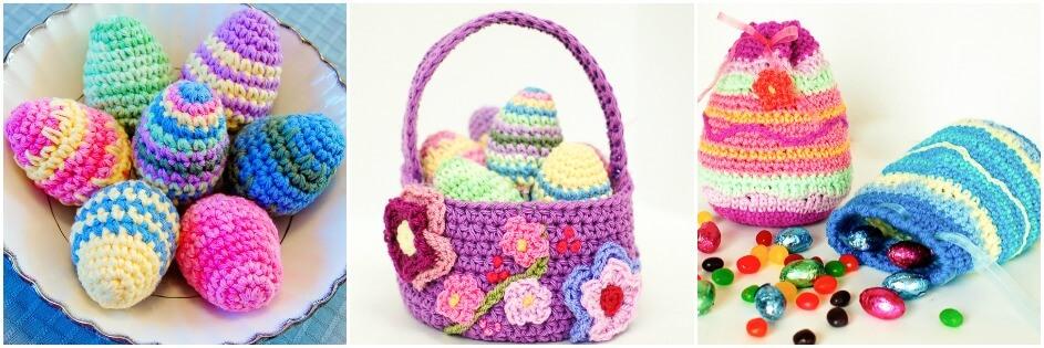 Free Easter crochet patterns | www.petalstopicots.com | #crochet #Easter