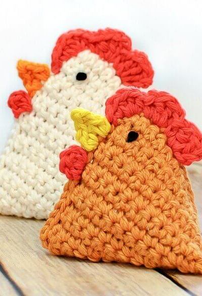 Crochet Chicken Pattern … Little Crochet Chick Bean Bag Pattern