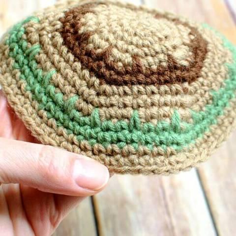 Yarmulke Crochet Pattern