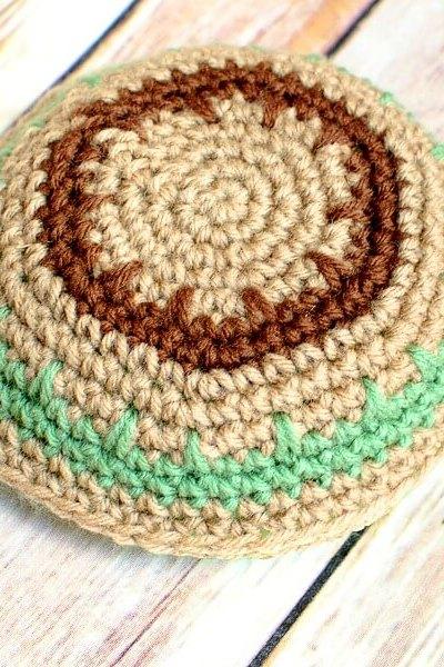 Crochet Yarmulke Pattern