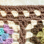 Granny Square Afghan Crochet Edging Pattern … Finishing my Scrapghan!