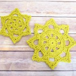 Chunky Crochet Doily Pattern in Two Sizes