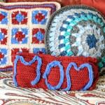 Mom Crochet Pillow … A Gift of Love