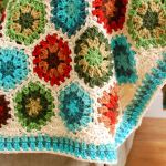 Granny Hexagon Crochet Edging