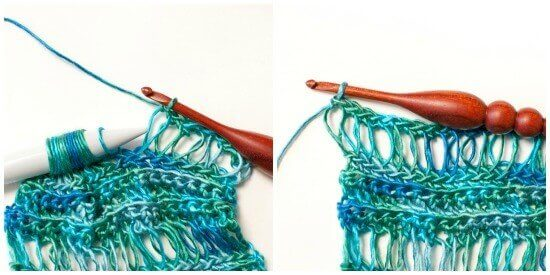 How to Do Broomstick Lace | www.petalstopicots.com