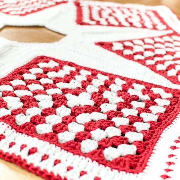 Crochet Christmas Tree Skirt Pattern Part 3 The Edging Petals