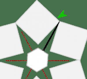Free Crochet Christmas Tree Skirt Pattern | www.petalstopicots.com | #crochet #Christmas #edging #treeskirt