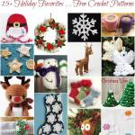 15+ Holiday Favorites … Free Christmas Crochet Patterns