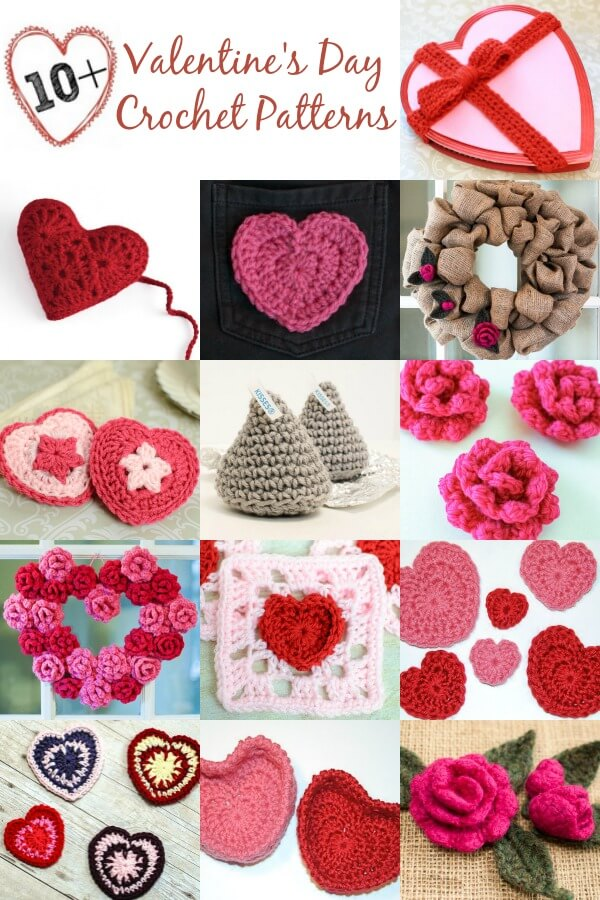 10 Free Valentines Day Crochet Patterns Petals To Picots
