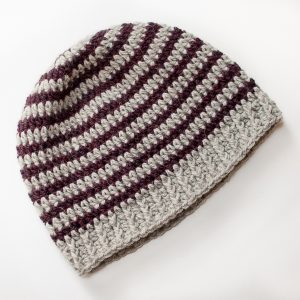 Basic Striped Hat Free Crochet Pattern | #crochet #pattern