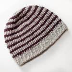 Basic Striped Crochet Hat Pattern