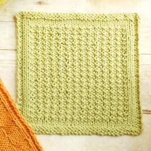 Textured Knit Dishcloth Pattern | www.petalstopicots.com | #knit #dishcloth #pattern #kitchen