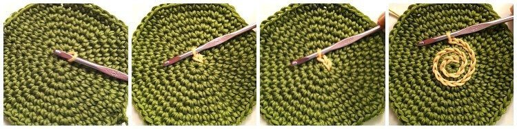 Crochet Surface Stitch | www.petalstopicots.com | #crochet #stitch #pattern #coasters #decor #home