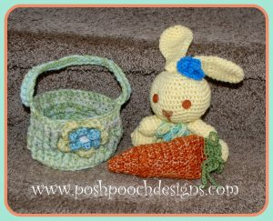 Easter Carrot Pouch by Posh Pooch Designs