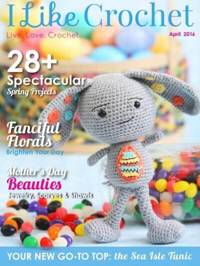 I Like Crochet, April Issue