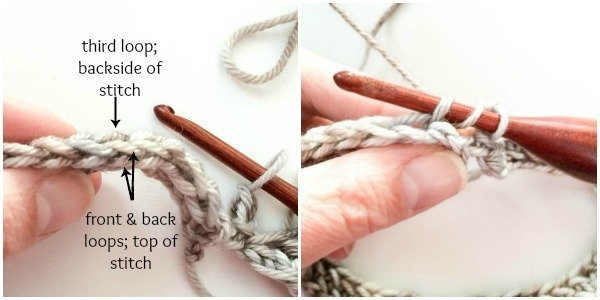 """""""Knit"""" Crochet Cowl Pattern www.petalstopicots.com"""