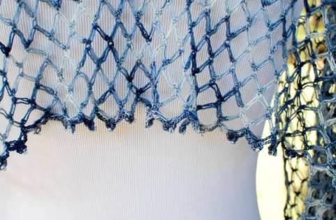 Solomons Knot Whisper Wrap Crochet Pattern | www.petalstopicots.com