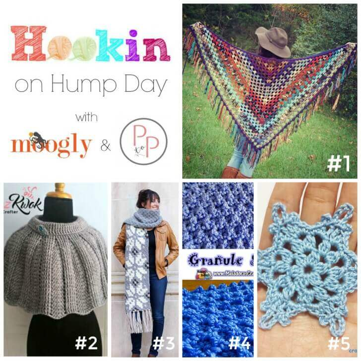 Hookin' on Hump Day #crochet #fiber #knit