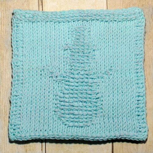 Snowman Tunisian Crochet Dishcloth January Finale Petals To Picots