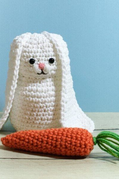 Bunny and Carrot Crochet Patterns