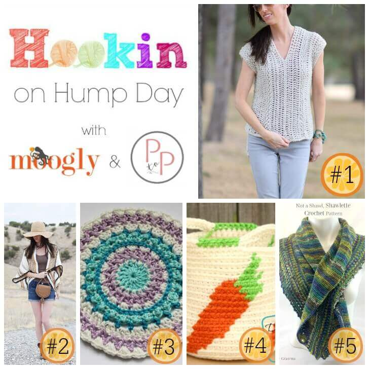 Hookin' on Hump Day #141: Link Party for the Fiber Arts