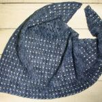 Any Season Asymmetrical Shawlette Crochet Pattern