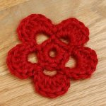 Sweet and Simple Crochet Flower Pattern
