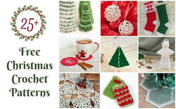 Free Christmas Crochet Patterns Ornaments Decor Gifts Snowflakes