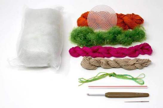Ruby Crochet Cactus Kit