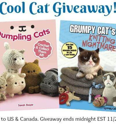 Cool Cat Gifts for Needleworkers – Giveaway!