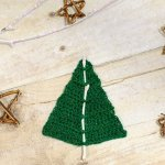 Woodland Christmas Tree Crochet Pattern